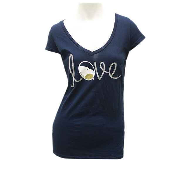 f27aad7dd Blue84 Navy Ladies Top w/Love/Academic Logo