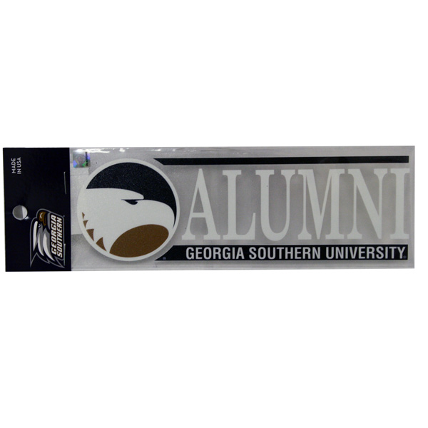 Decal - Alumni Georgia Southern University w/Academic Logo