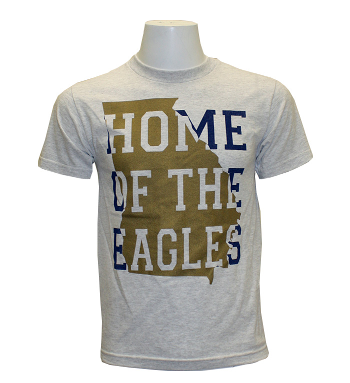 CI Sport Ash T-Shirt w/Home of The Eagles