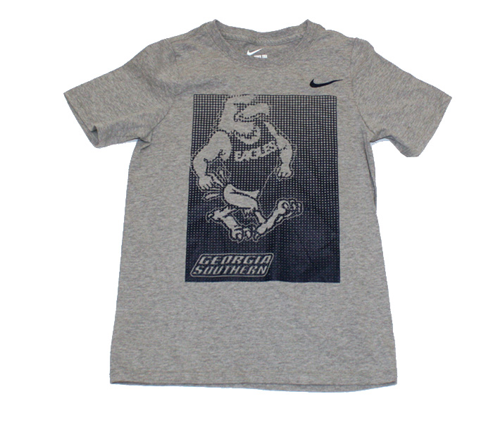 Nike Dark Heather Youth T-Shirt w/GSU & GS