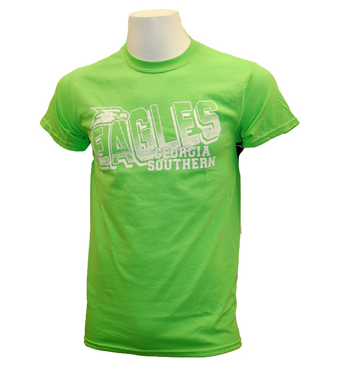 CI Sport Lime T-Shirt w/Eagles & Eagle Head