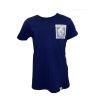 Wes & Willy Navy Sparkle Pocket Tee w/Gus & GS thumbnail