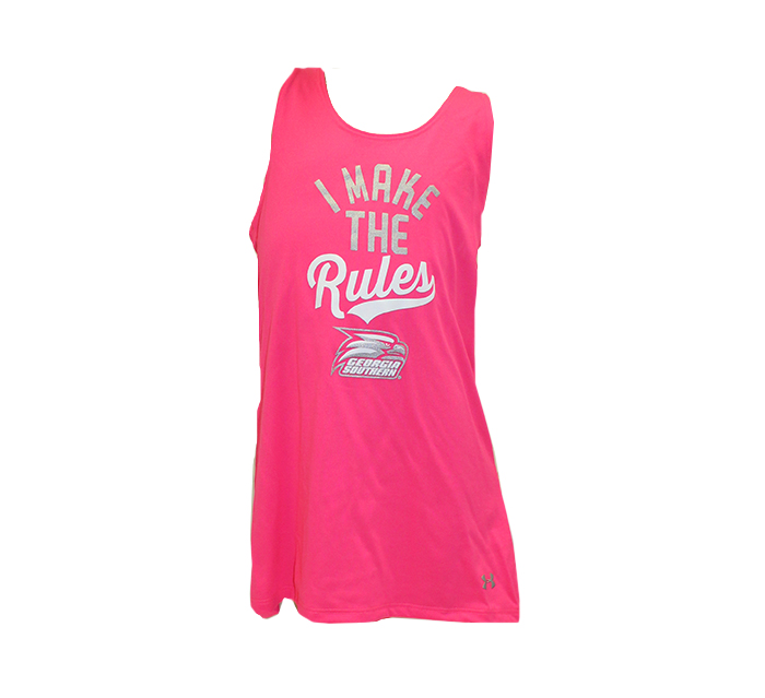 Under Armour Youth Pink Tank w/Athletic Logo