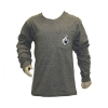 League Kids Gray Youth Long Sleeve w/GUS on Pocket &Back thumbnail