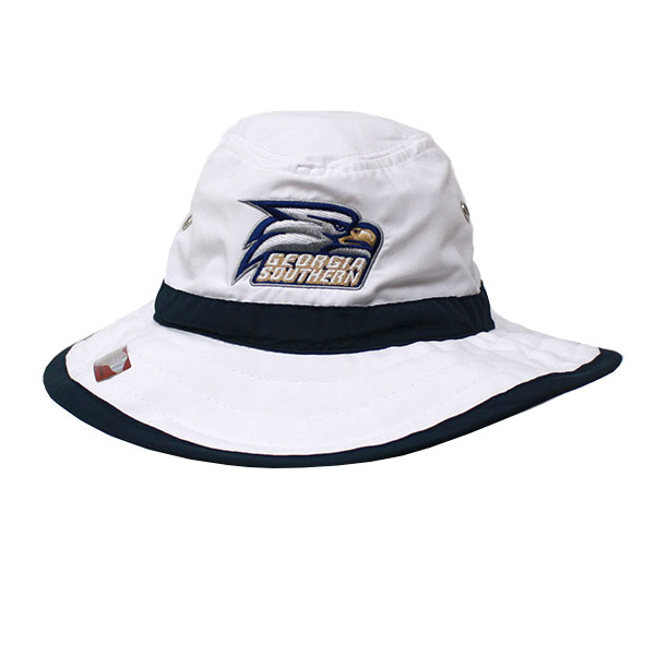 Ahead Navy/White Sufer Sun Hat w/Athletic Logo