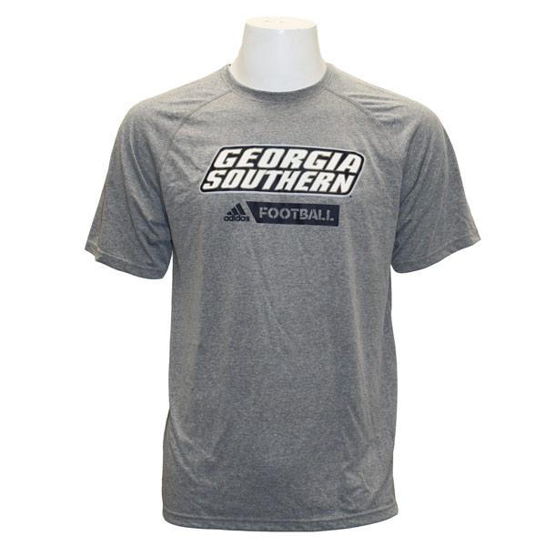 Adidas Gray T-Shirt w/GS Football