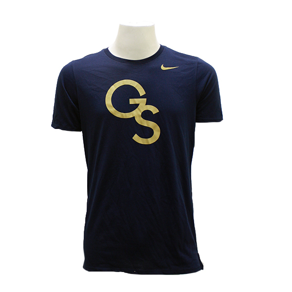 Nike Navy Men's Dry Tee Travel Meshback w/GS