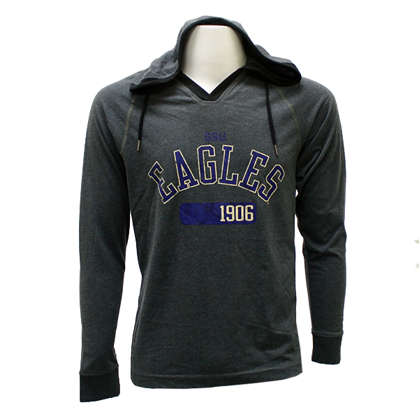 Camp David Charcoal Hoodie w/GSU Eagles 1906