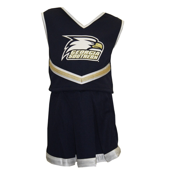 Third Street Navy Infant Cheer 2pc w/Athletic Logo