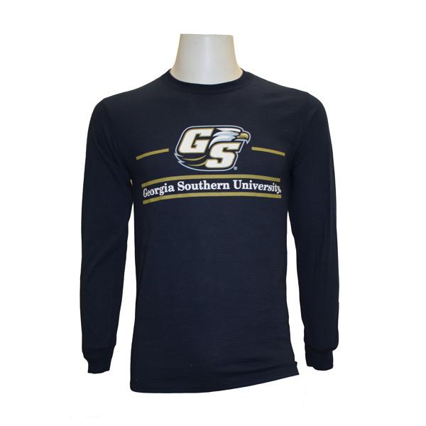 MV Sport Navy Long Sleeve T-Shirt w/GSU & Secondary Logo