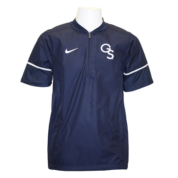 Nike Navy/White Hot Short Sleeve Jacket w/GS