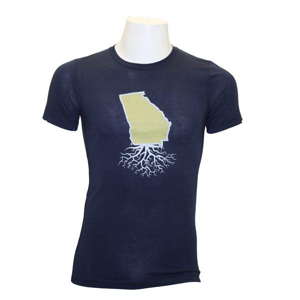 WYR Navy T-Shirt w/Georgia Roots