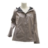 MV Sport Grey Ladies Rain Jacket w/Athletic Logo thumbnail