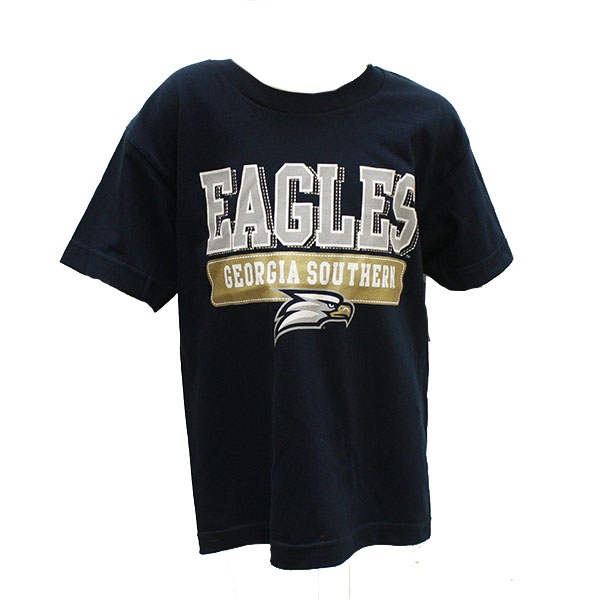 CI Sport Navy Youth T-shirt w/GASO/Eagles