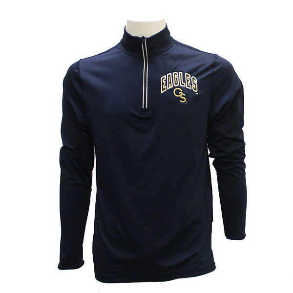 CI Sport Navy 1/4 Zipped Pullover w/GS Eagles