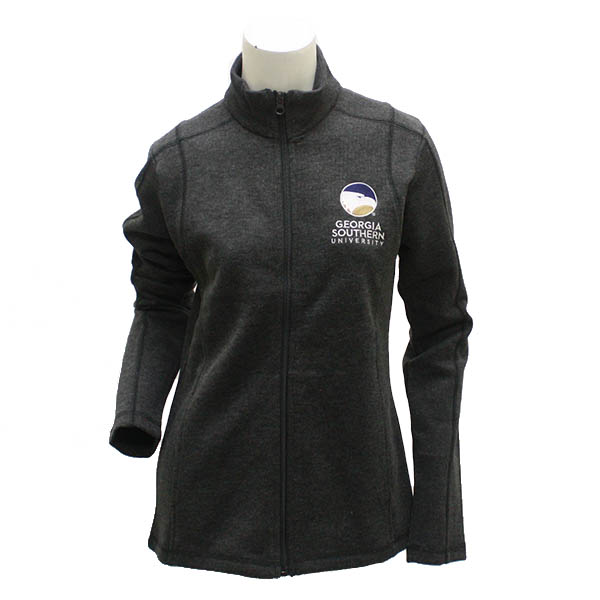 Camp David Gray Ladies Jacket w/GSU Logo