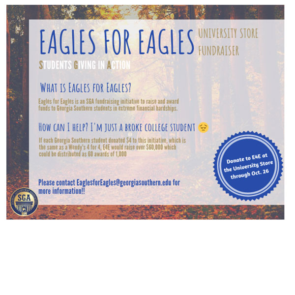 EAGLES4EAGLES - University Store Fundraiser