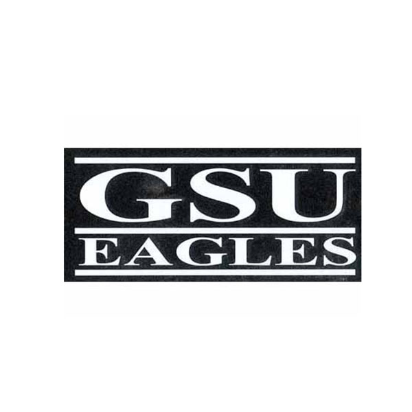 "Image For 9""X4"" GSU Eagles Cut Letter Decal"