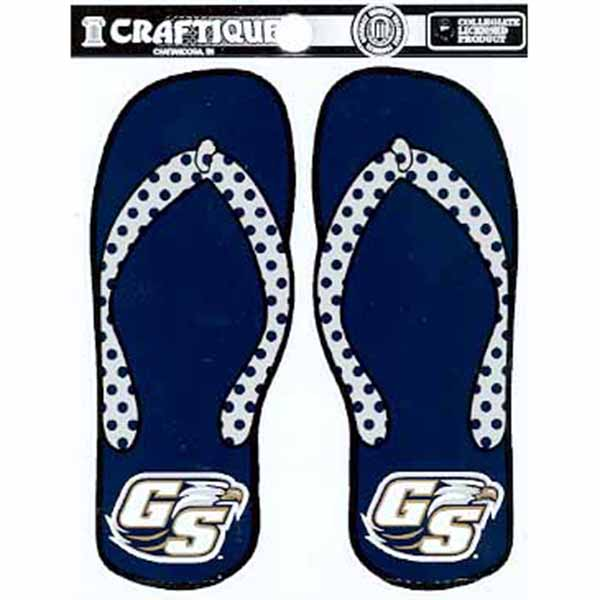 Image For Craftique Decal - Flip Flop w/Secondary Logo