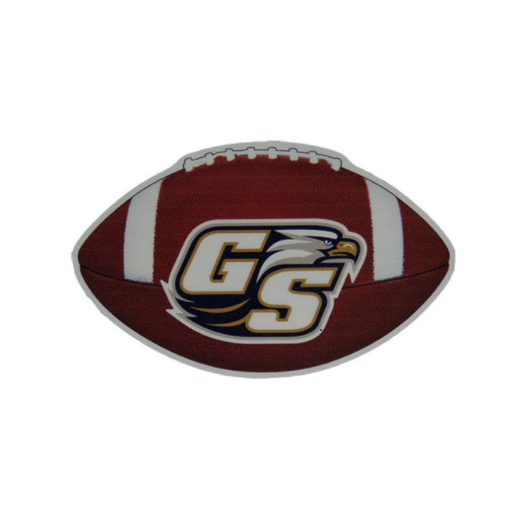 "Image For Craftique 3"" X 4.5"" Football Decal"
