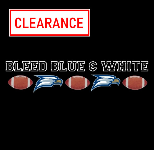 Image For Auto-Graphs Premium Vinyl Decals - Bleed Blue White
