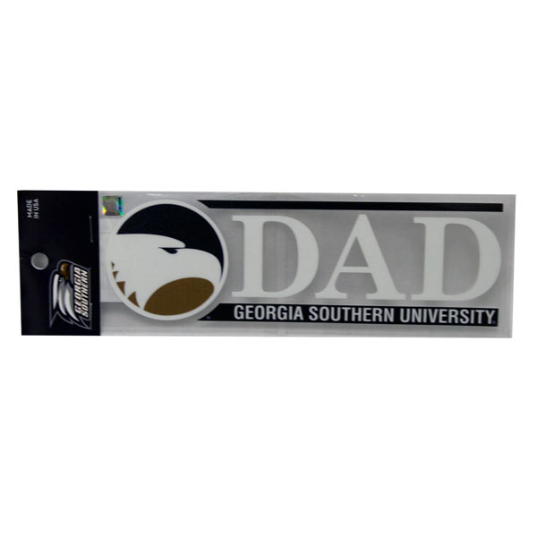 Image For Dad GSU Decal w/Academic Logo