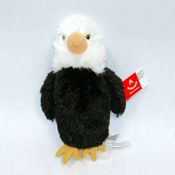 "Image For Gifts of Smile Plush 8"" Eagles"