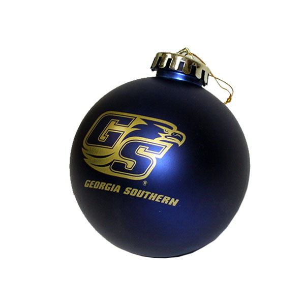 "Cover Image For 3"" Navy Ornament w/Secondary Logo"