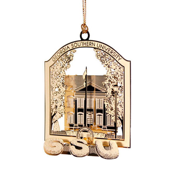 Image For Gold Sweetheart Circle Ornament