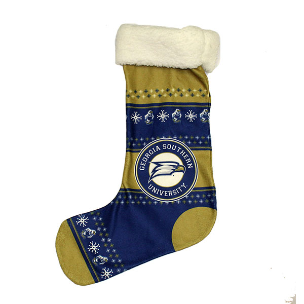 Image For Christmas Stocking w/Eagle Head & GSU