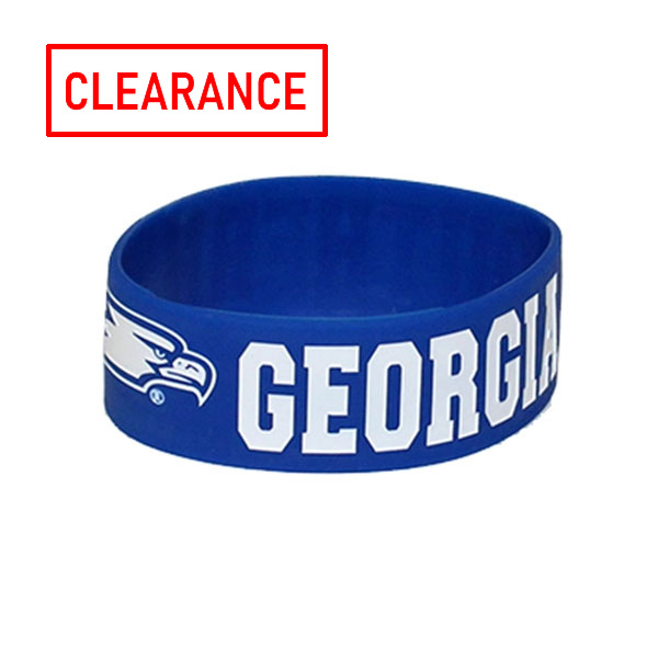"Image For 1"" Rubber Debossed Wristband w/GS & Eagle Head"