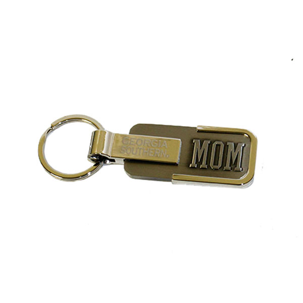 Image For Silver Engraved Keychain - Mom