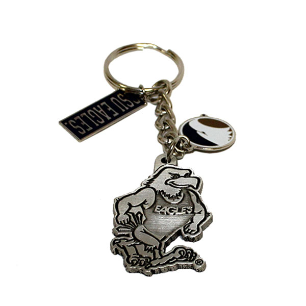 Image For Charm Keychain w/GUS, Eagles, Academic Logo