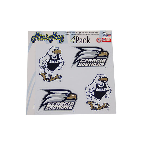 "Image For 4 Pack Mini Magnet 5"" x 5"" - Gus & Athletic Logo"