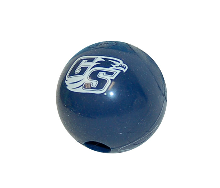 "Cover Image For Navy 2.5"" Campus Dog Ball w/Secondary Logo"