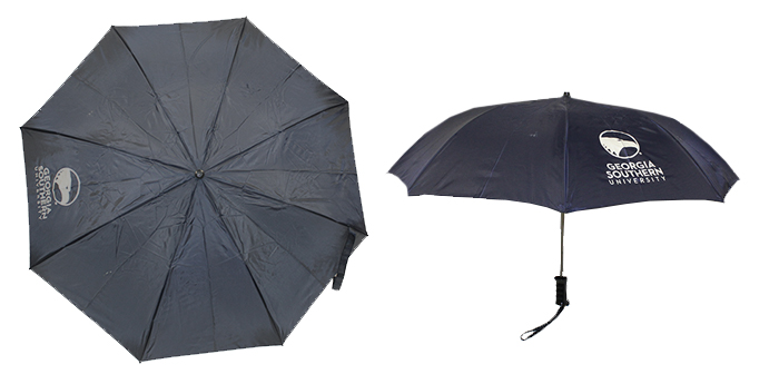 "Image For 42"" Automatic Folding Umbrella w/Academic Logo"