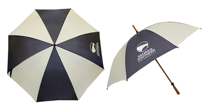 "Image For 62"" Sporty Golf Umbrella w/Academic Logo"