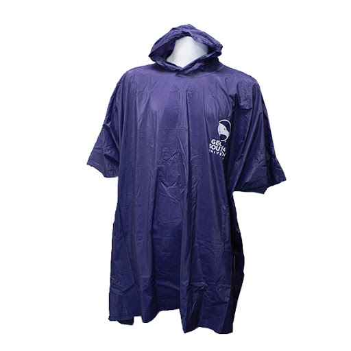 Image For Navy GSU  Poncho w/Academic Logo