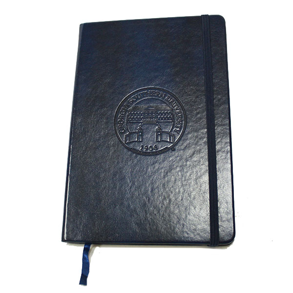 Image For Navy NeoSkin Hard Cover Journal w/Seal