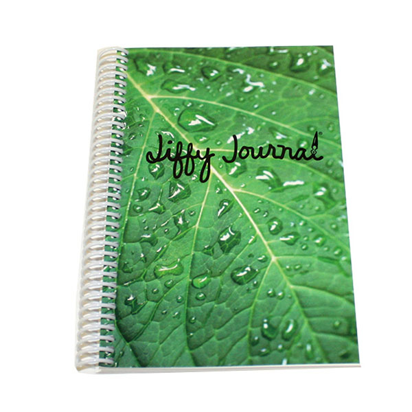 Image For Jiffy Journal Green Leaf
