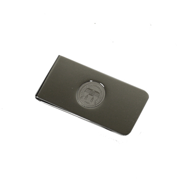 Image For CIS Silver Engraved Money Clip w/Seal