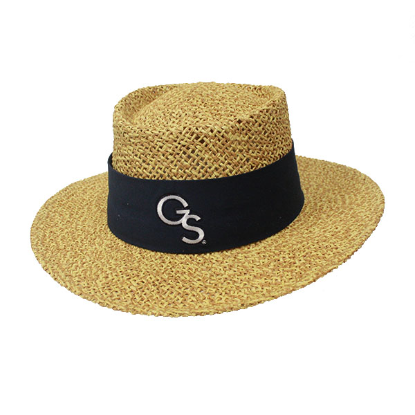 "Image For LogoFit ""Tournament"" Straw Hat w/Embroidered GS"