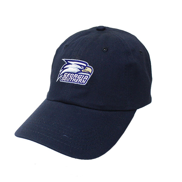 Image For Eagle Navy Adjustable Cap w/Embroidered Athletic Logo