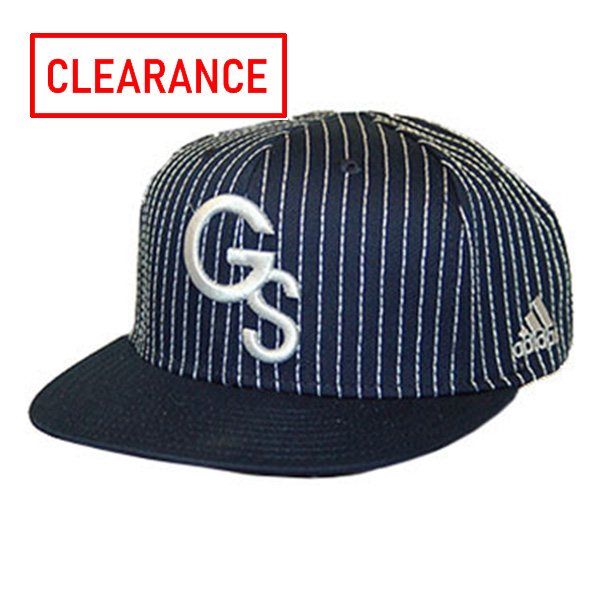 Image For Adidas Navy Pinstripe Baseball Cap w/Embroidered GS