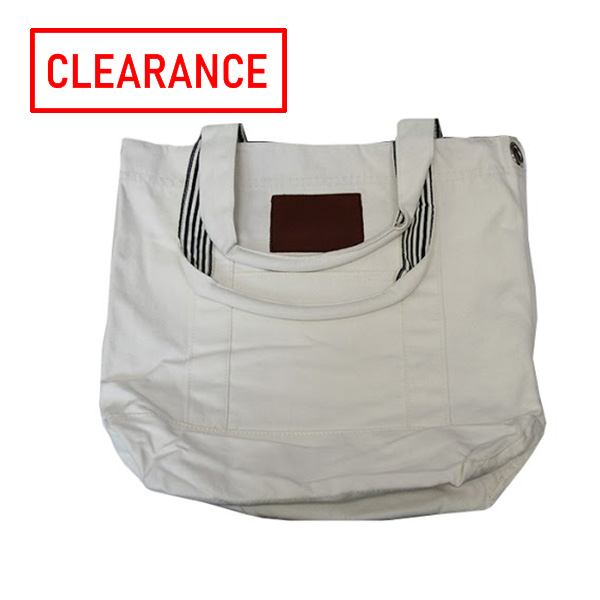 Image For White Canvas Tote Bag