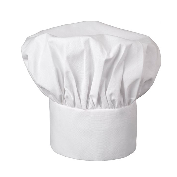 Image For Fame Classic Chef Hat - White