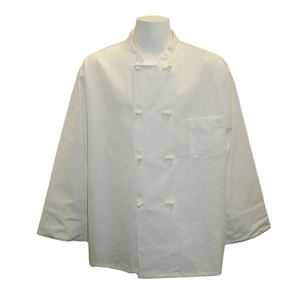 Image For White Traditional Chef Coat