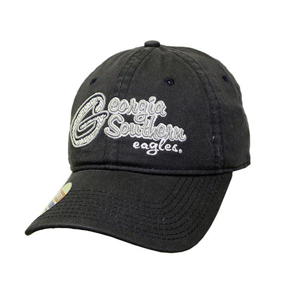 Image For The Game Navy Ladies Cap w/Embroidered GS & Eagles