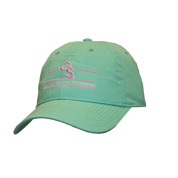 Image For The Game Mint/Pink Ladies Cap w/Embroidered GS & GS Bar