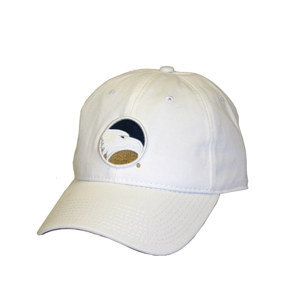 Image For The Game White Ladies Cap w/Embroidered Academic Logo